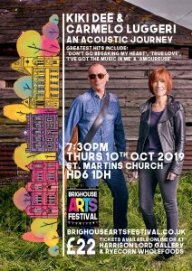 Kiki Dee at the Brighouse Arts Festival