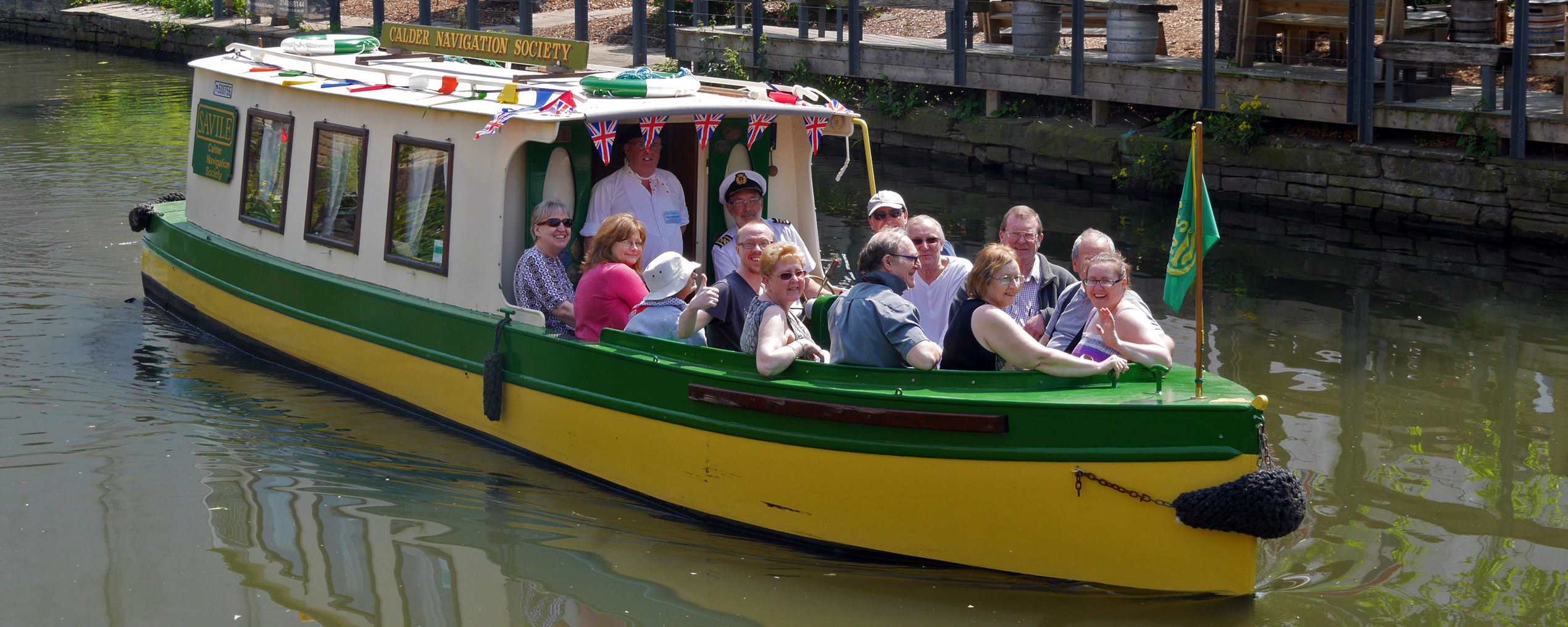 Brighouse 1940s Weekend Canal Boat