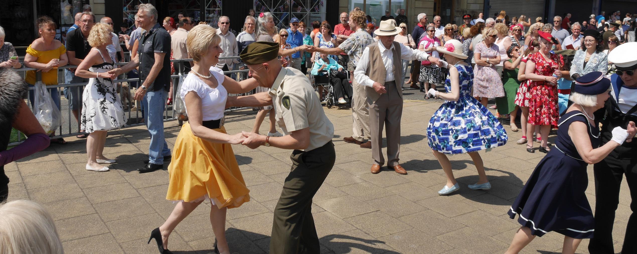 Brighouse 1940s Weekend Dancing