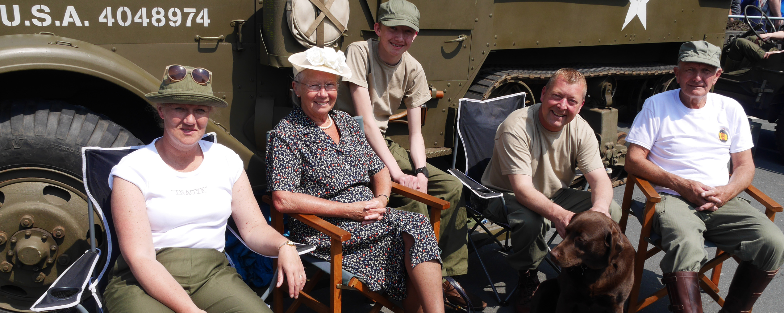 Brighouse 1940s Weekend Sunny
